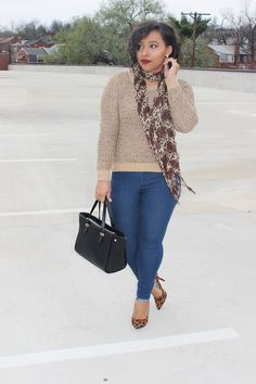 Patty's Kloset - Leopard is a Neutral #ootd #blogger #streetstyle