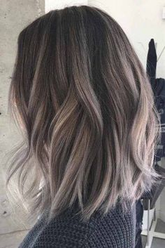 Are you looking for blonde balayage hair color For Fall and Summer? See our collection full of blonde balayage hair color For Fall and Summer and get inspired! Hair Day, New Hair, Girl Hair, Ash Brown Hair Color, Grey Ombre Hair Short, Ash Ombre Hair, Ash Brown Hair Balayage, Ash Brown Hair With Highlights, Silver Highlights