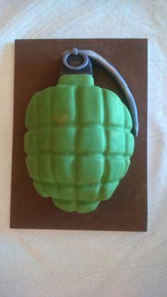 Grenade cake by Dulcemelcocha