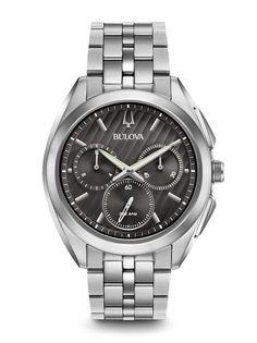 Bulova 96A186 Men's Curv Chronograph Watch | Bulova
