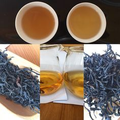 """Comparing two same black ( red ) teas from wild tea tree variety harvested in different times. flush """"tou chun"""" and last spring harvest """" chun wei """". Observing visual differences and comparing taste characteristics within individual steepings. Wholesale Tea, Tea Blog, Tea Tree, Teas, Harvest, Spring, Black, Black People, Tees"""