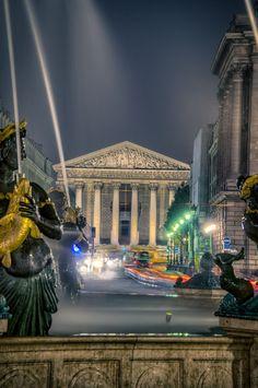 Night lights, Paris