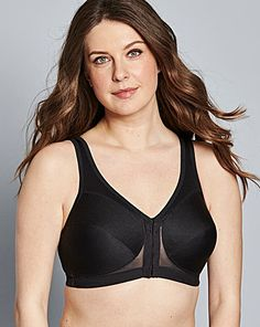 579be98f86 Glamorise Back Support Non Wired Bra