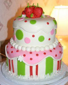 Strawberry shortcake CUTE!!!