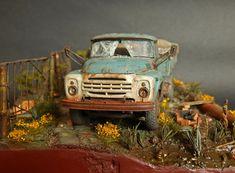 #scale #models #modern #russian #truck #burn #dust #scalemodel