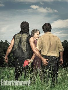 #TheWalkingDead stars Norman Reedus and Andrew Lincoln gave us the butt grab of the year (there it is).