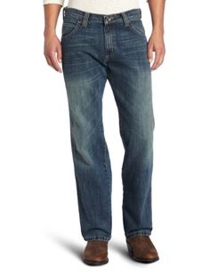 Amazon.com: Wrangler Men's Tall Retro Slim Bootcut Jean: Clothing Roll over image to zoom in        Wrangler Wrangler Men's Tall Retro Slim Bootcut Jean 4.4 out of 5 stars 94 customer ratings  | 49 customer reviews Price:$43.83 - $58.52  size_name:  Sizing info  |  Fit: As expected color_name: WORN IN   WORN IN     River Wash 100% Cotton Imported Machine Wash Worn in finish Slim fit Sits lowest on waist Boot cut 100% cotton