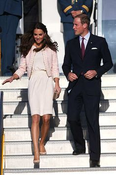 See what Catherine, the Duchess of Cambridge is wearing.