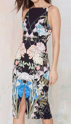 Keepsake Same Love Floral Dress #dress