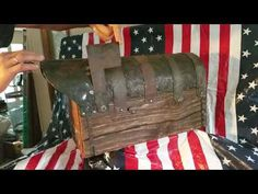 Here is one of the mailboxes which creates our workshop. Posting this short video to show you the quality and how all mailboxes' mechanism works. The door ho. Rustic Mailboxes, Mailbox Ideas, Storage, Youtube, Home Decor, Purse Storage, Decoration Home, Room Decor, Larger