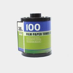 Film Toilet Paper Case Blue