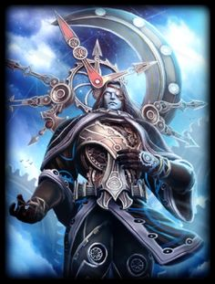 Greek God Chronos - god of time and the universe