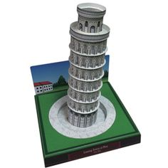 Leaning Tower of Pisa, Italy - Europe - Architecture - Paper CraftCanon CREATIVE PARK