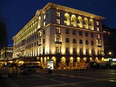 Sheraton hotel, Sofia Bulgaria