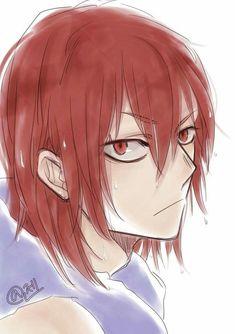 ya know, this kinda looks like Cassonava from ohshc, or if this is kirishima. Kirishima Eijirou, High School Host Club, Boy Art, Character Development, Baby Shark, Boku No Hero Academy, Manga Games, My Hero, Anime Characters