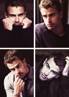 Theo James for Vanity Fair.