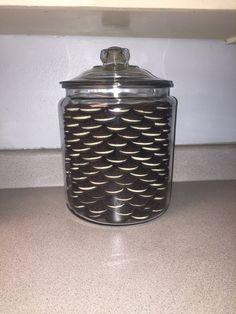 Khloe Kardashian inspired cookie jar.. $13.99 jar.. 6 packs of double stuffed cookies LOVE