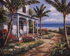 Summer House I at FramedArt.com