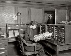 """Acme Card System Co."" ca. 1921. Many unique recordkeeping systems existed even prior to and alongside file folders."