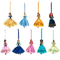 2016 Disney Princess ornaments | Disney Christmas | Pinterest ...