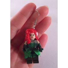 Lego Batman Harley Quinn and Poison Ivy Earrings ($21) ❤ liked on Polyvore featuring jewelry, earrings, earring jewelry and ivy jewelry