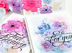 Introducing Floral Sketches & Classic Calligraphy