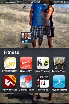 fitness apps!