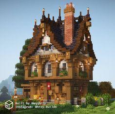 Minecraft Farm, Minecraft Medieval, Minecraft Construction, How To Play Minecraft, Minecraft Projects, Minecraft Stuff, Minecraft Interior Design, Minecraft House Designs, Minecraft Architecture