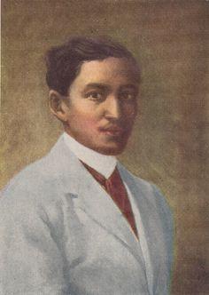 Portrait of Jose Rizal by Juan Luna