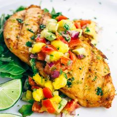 Try this Grilled Tequila Lime Chicken for a healthy dinner recipe.