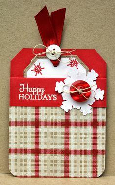 Perfect Paper Designs: Tutorial Titular de la tarjeta del bolsillo de regalo