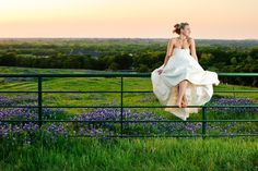 If I can't get married on MV, then it will be in a field of blue bonnets