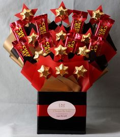 Edible Chocolate Bouquet - Youre A Star Cherry Ripe
