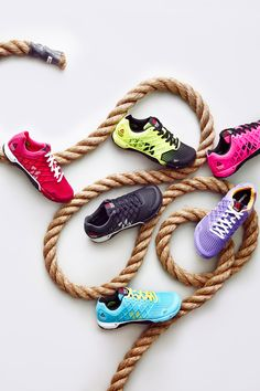 The Nano 4.0 is Reebok's latest evolution of the training shoe. The RopePro protection wrap gives support during those challenging CrossFit WODs that involve rope climbing.
