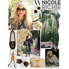 """""""Nicole Richie style"""" by emilymiller on Polyvore"""