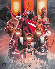 """Heroes come and go. But Legends never die. wadecounty loves you back, and we always will! Miami Heat Basketball, Basketball Memes, Basketball Art, Basketball Pictures, College Basketball, Dwyane Wade, Nba Players, The Flash, Legends"