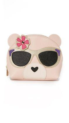 7306016241d FURLA Allegra Bear Cosmetic Case.  furla  bags  leather  accessories   cosmetic