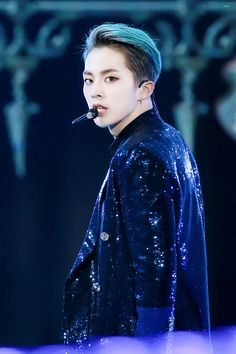 Xiumin - 161008 DMC Korean Music Wave Festival Credit: 슈먼데이. (DMC 코리아 뮤직 웨이브 페스티벌) Fierce xiu