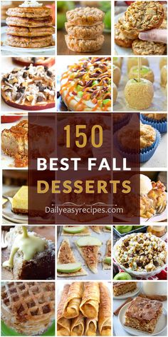 150 Best Fall Desserts: Easy-to-make Recipes