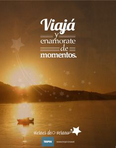 VIajá y enamorate de momentos! |||| Travel, and fall in love with moments! |||| http://www.tripin.travel/destinos-argentina.html
