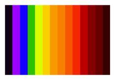 Northen light color scale
