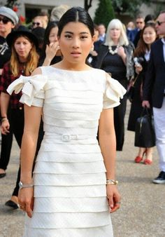 Princess Sirivannavari Nariratana of Thailand attends the Chloe show during the Paris Fashion Week Womenswear Spring/Summer 2015 on 28.09.2014 in Paris, France