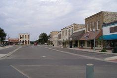 Burnet TX - Evening on Square