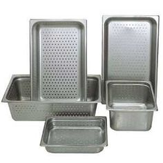 Update NJP-1002PF Full-Size 2.5 Deep Perforated Steam Table Pan Model #: NJP-1002PF. Material: 25 Gauge Stainless Steel. Perforated. Full size. Capacity: 4 qt.  #Update_International #BISS