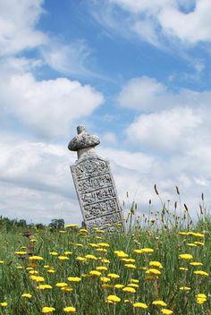 Kosova'da bir Osmanlı mezar taşı