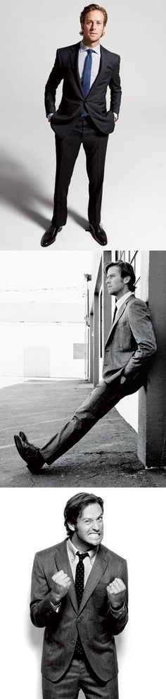 Armie Hammer for the September American edition of Esquire