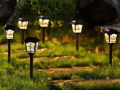 Best Solar Lights, Solar Pathway Lights, Pathway Lighting, Patio Lighting, Unique Lighting, Solar Garden Lights, Landscape Lighting, Lighting Your Garden