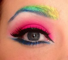 Different kind of Rainbow http://www.makeupbee.com/look.php?look_id=82933