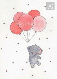 Die 26 Besten Bilder Von Susse Tiere Cute Drawings Elephant