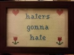 Haters Gonna Hate gift